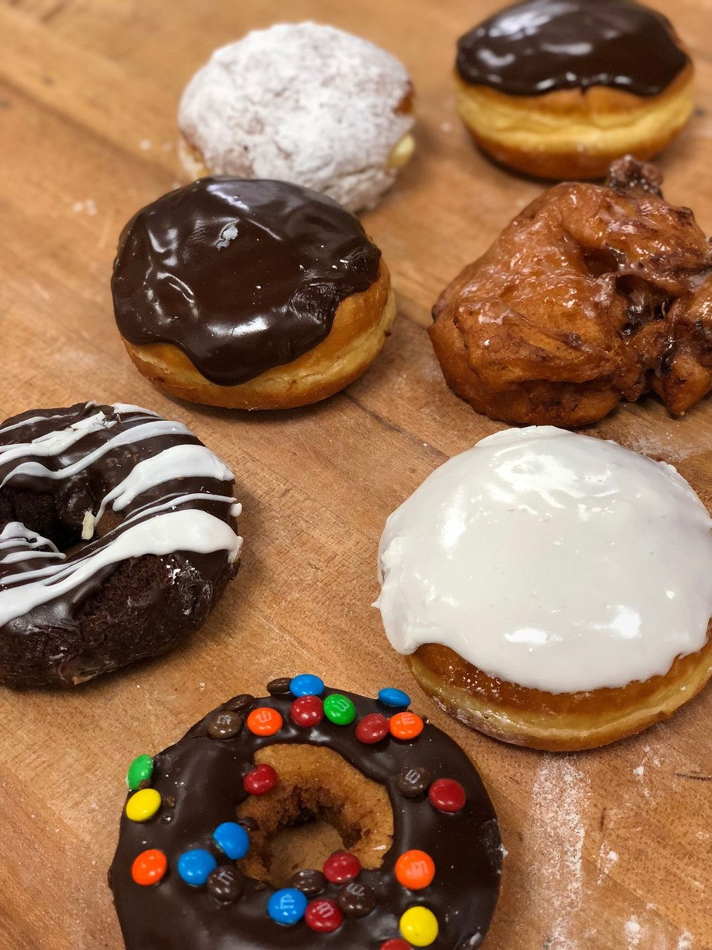 Photo of various donuts